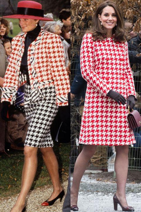 凱特王妃,英國王妃,黛安娜王妃,Kate Middleton,Princess Diana,穿搭,時尚,雙生造型