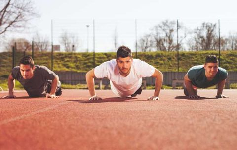 Press up, Sports, Sports training, Fun, Recreation, Team, Exercise,