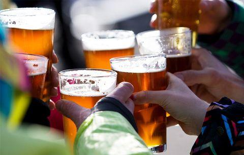 few beers effective pain killers