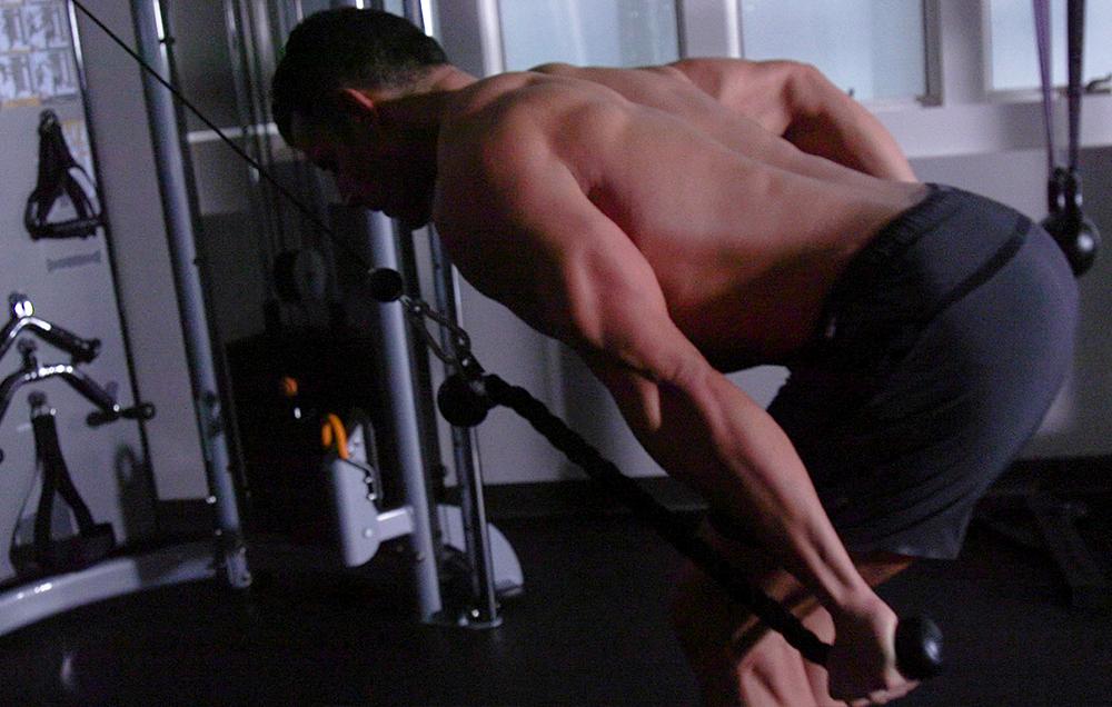 triceps pushback