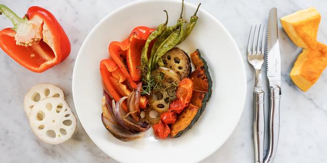 烤蔬菜溫莎拉