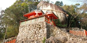 新宮市, 神倉神社, ゴトビキ岩, 白洲信哉