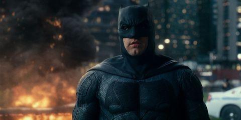 Batman, Superhero, Fictional character, Justice league, Screenshot, Outerwear, Digital compositing, Action figure,
