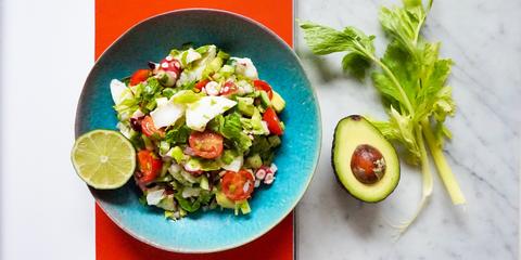 Dish, Food, Cuisine, Garden salad, Salad, Ingredient, Vegetable, Israeli salad, Tabbouleh, Produce,