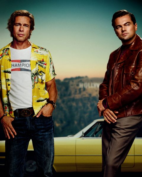 Once Upon A Time In Hollywood, Tarantino, Movie, Leonardo DiCaprio, Brad Pitt