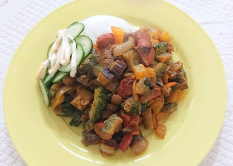 Dish, Cuisine, Food, Ingredient, Produce, Meat, Recipe, Caponata, Vegetarian food, Vegetable,