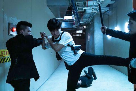 《第九分局》邱澤拍武打戲