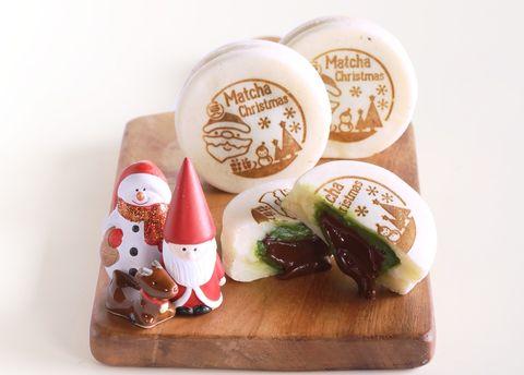 一〇八抹茶茶廊推出白色聖誕節限定甜品