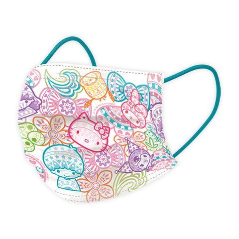 最夢幻櫻花醫療口罩!「line friends、三麗鷗」春季口罩,熊大、兔兔、hello kitty變得粉嫩又浪漫