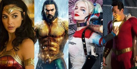 DC, DC宇宙, 水行俠, 自殺突擊隊, 華納兄弟, 蝙蝠俠, 超人