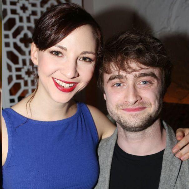 哈利波特, 女友, 戀愛,Daniel Radcliffe, Erin Darke, 一見鍾情, 丹尼爾,