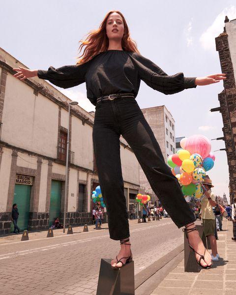 LEVI'S Balloon系列推出經典修身黑色牛仔褲