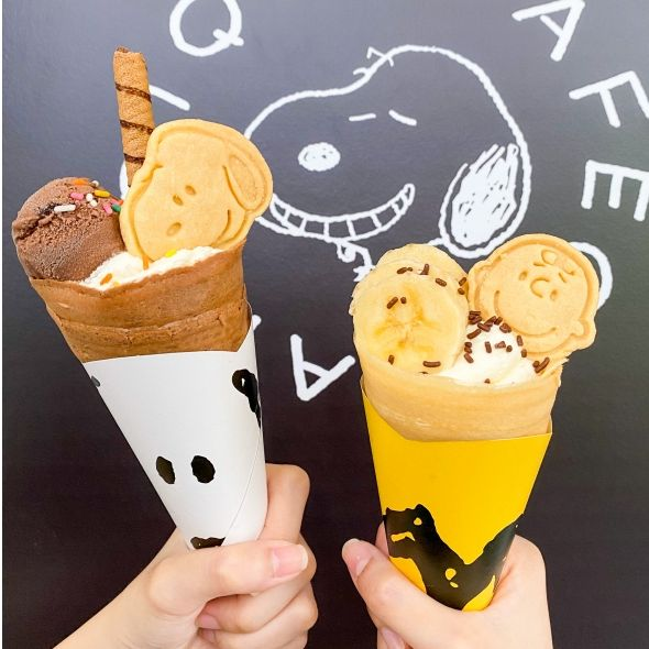 史努比、查理布朗跳進可麗餅裡!日本高人氣gelato pique café聯名花生漫畫,11款周邊可愛爆擊