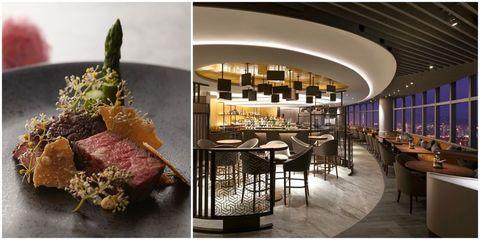 左:寒舍艾麗,右:Asia 49亞洲料理及酒廊