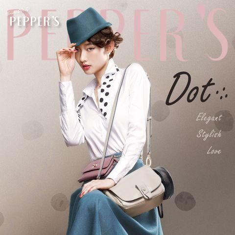 PEPPER'S,胡椒包,連鎖包上包,小貝殼包,小資女包包推薦,秋冬包款