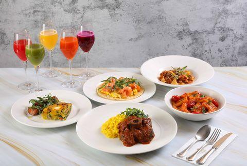 Dish, Food, Cuisine, Meal, Ingredient, Lunch, À la carte food, Brunch, Dishware, Meze,
