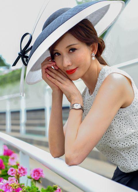 林志玲出席英國皇家賽馬會