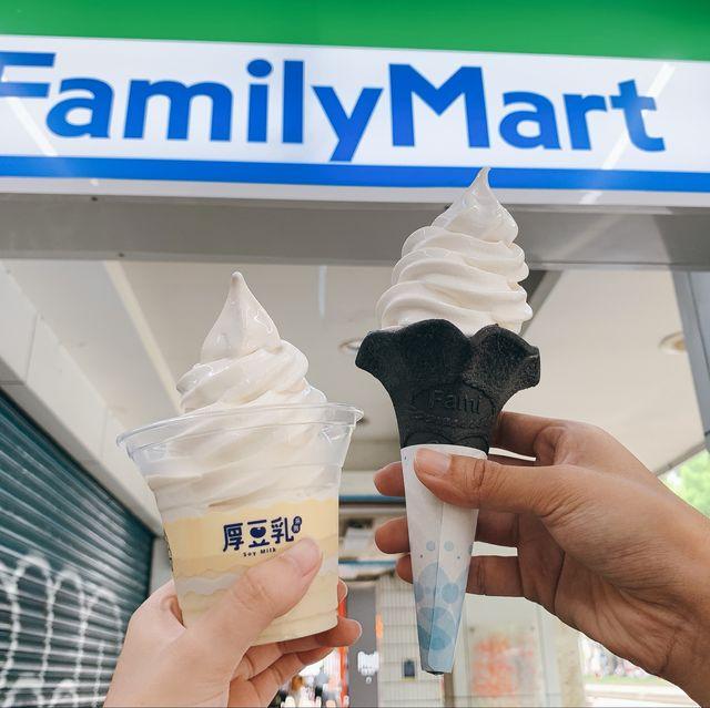 全家豆乳冰淇淋