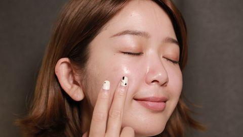 Face, Cheek, Skin, Nose, Hair, Eyebrow, Chin, Lip, Head, Forehead,