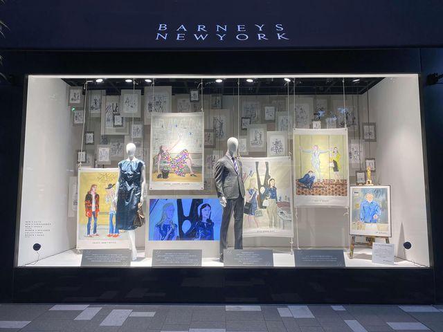 バーニーズ ニューヨーク, ジャン=フィリップ・デローム, 30周年記念, 展示, 特別展示, ファッション