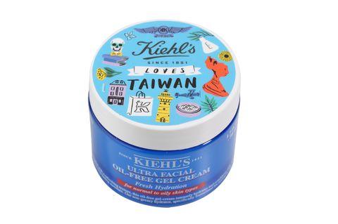 契爾氏,Kiehl's Loves Taiwan,愛台灣,金盞花化妝水,亞馬遜白泥淨緻毛孔面膜,冰河醣蛋白無油清爽凝凍,保濕霜