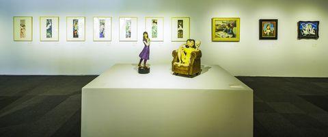美少女的美術史展覽