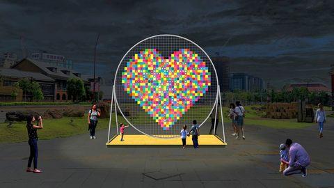 臺北最high新年城 2021跨年晚會「2021玩轉臺北,和你一起」7大藝術裝置及周邊燈飾