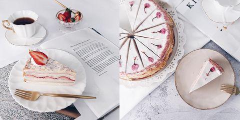 千層蛋糕, 千層蛋糕推薦, 台北千層, 台北甜點推薦, 草莓千層
