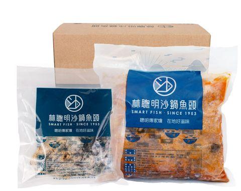 kkday推林聰明沙鍋魚頭冷凍自煮包,人氣拌麵、魚鬆