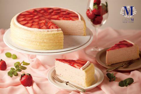 Food, Cuisine, Dish, Dessert, Semifreddo, Sweetness, Ingredient, Frozen dessert, Torte, Bavarian cream,