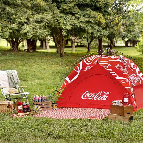 可口可樂集點帳篷