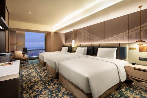 台北新板希爾頓飯店5大亮點一次看!體驗無邊際泳池、高樓層限時酒類暢飲、品嘗星級甜點
