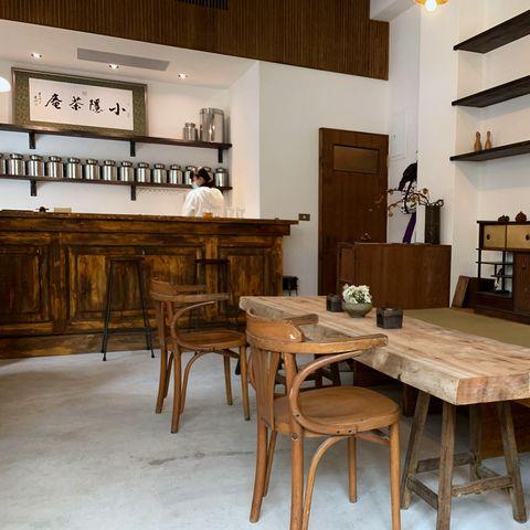 茶席上的悠然風景!台北品茗新去處「小隱茶庵」從茶湯到器皿展現茶館之美