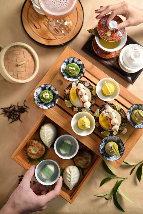 台北W飯店YEN Bar推出TEA-PSY午茶艷