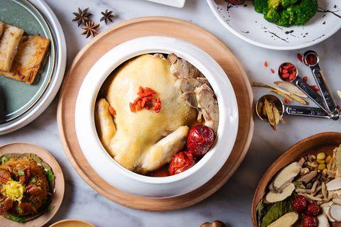 台南晶英酒店漢方養生煲湯