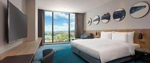 桃園新開幕「海洋主題」cozzi blu和逸飯店即將開幕!船艙造型酒吧、室內bbq露營區…5大重點一次看