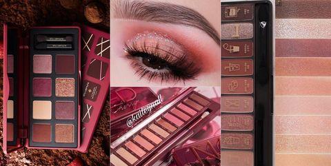 咖啡盤,楓紅,眼影盤,眼妝眼彩,紅棕色系,大地色系,酒紅色,Etude House