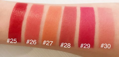 Lip, Pink, Red, Cosmetics, Lipstick, Beauty, Lip gloss, Orange, Tints and shades, Material property,