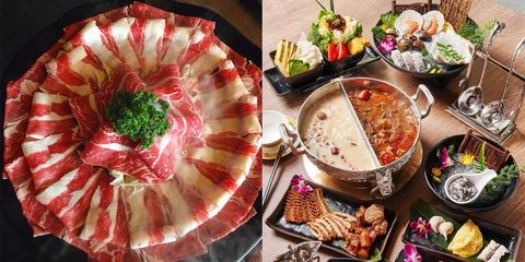 Dish, Food, Cuisine, Instant-boiled mutton, Hot pot, Ingredient, Shabu-shabu, Cold cut, Meal, Chinese food,