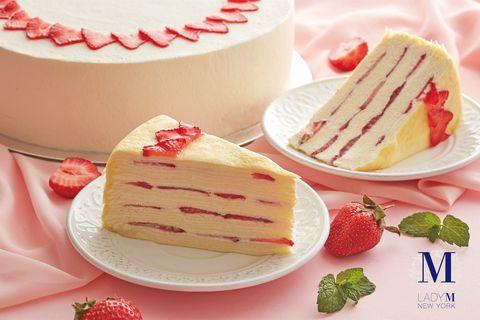 Food, Dessert, Dish, Cuisine, Frozen dessert, Semifreddo, Ingredient, Cake, Baked goods, Torte,