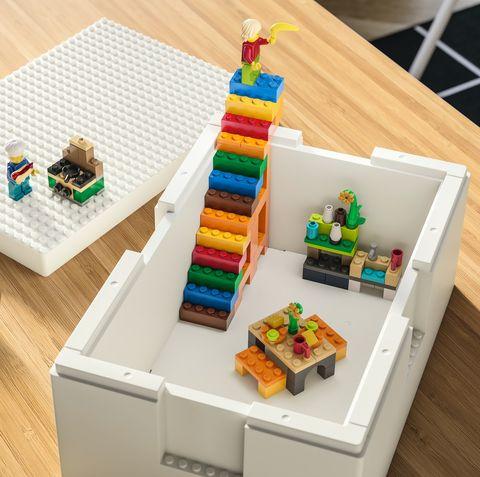 ikea、lego推出「樂高收納盒」!收納完成後瞬間變身展示品,巨型樂高也不用怕佔空間