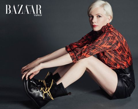 BAZAAR 【封面人物】Michelle Williams