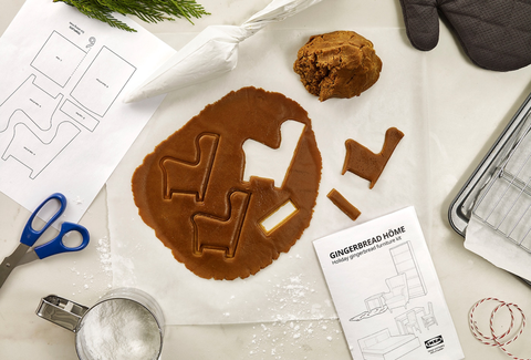 用暖心薑餅屋迎接聖誕!ikea推出薑餅屋手作指南,打造「家」的氣味