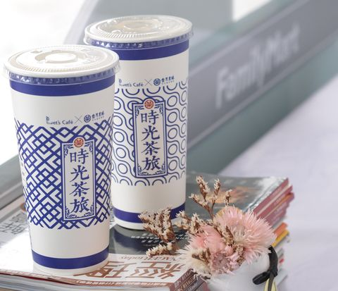 全家,Let's Café,超商飲品,仙女紅茶,仙女醇奶茶,時光茶旅,台灣農林,現泡茶飲,冰萃茶磚