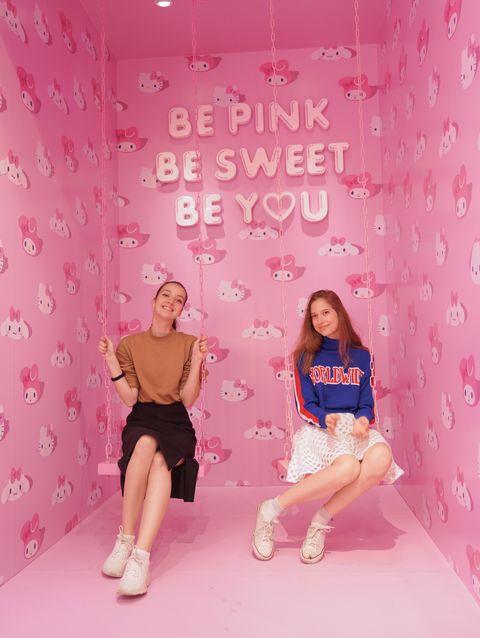 Pink, Skin, Magenta, Photography, Wallpaper, Sitting, Photo shoot,