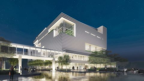 台北大直全新購物地標「noke 忠泰樂生活」!蔦屋書店、溜冰場、米其林星級餐廳⋯5大亮點讓人好期待
