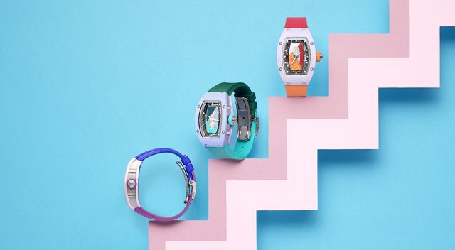 richard mille全新彩色陶瓷rm 0701腕錶