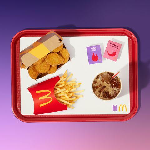 麥當勞bts套餐