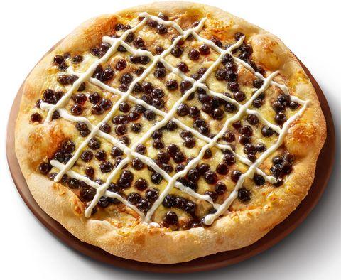 必勝客黑糖珍奶披薩