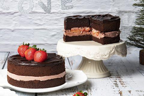 BAC草莓巧克力蛋糕